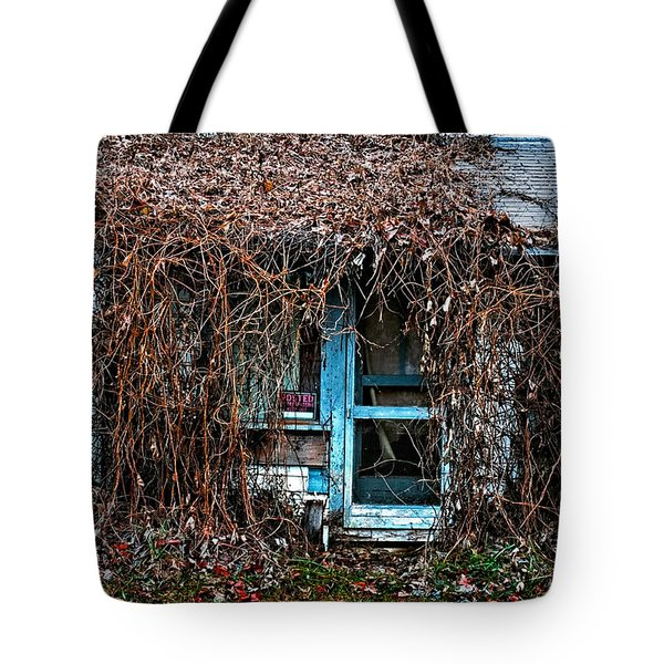 Slightly Overgrown Tote Bag by Christopher Holmes