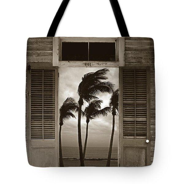 Slip Away To Paradise Tote Bag by John Stephens