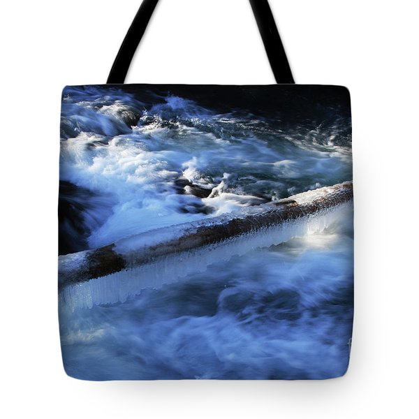 Slippery Log Tote Bag