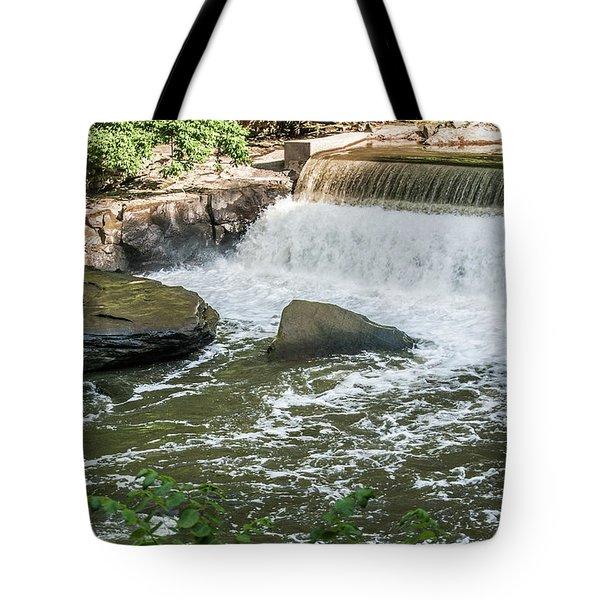 Slippery Rock Gorge -1893 Tote Bag