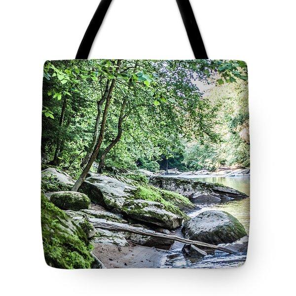 Slippery Rock Gorge - 1912 Tote Bag