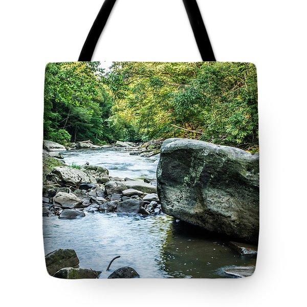 Slippery Rock Gorge - 1918 Tote Bag