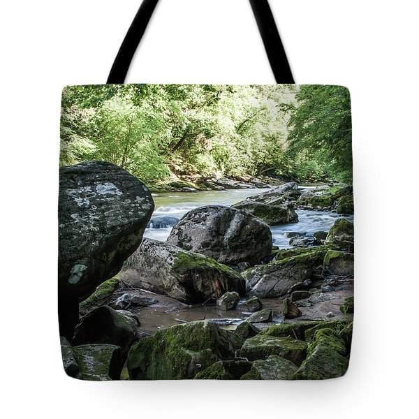 Slippery Rock Gorge - 1938 Tote Bag
