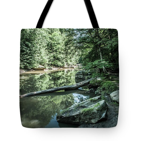 Slippery Rock Gorge - 1944 Tote Bag