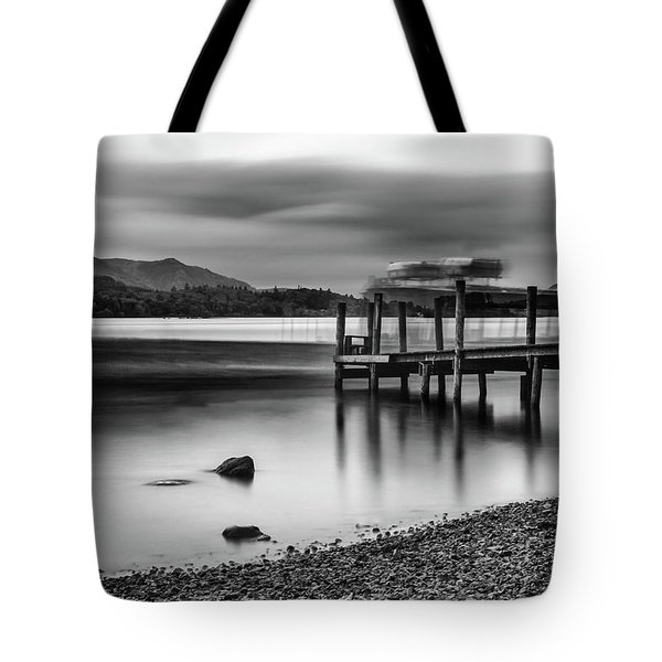 Slipping The Jetty Tote Bag