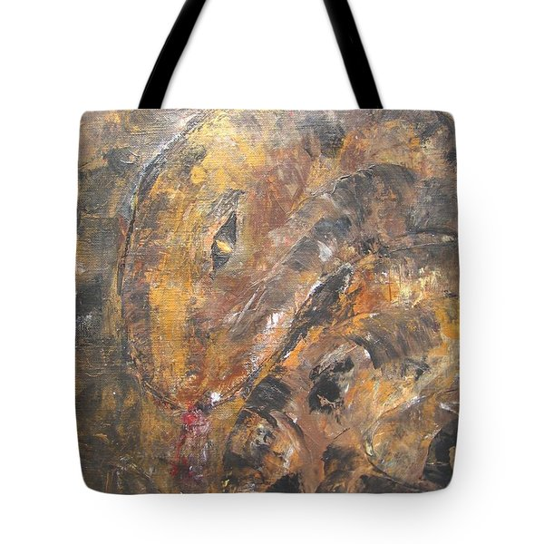 Slither Tote Bag by Maria Watt
