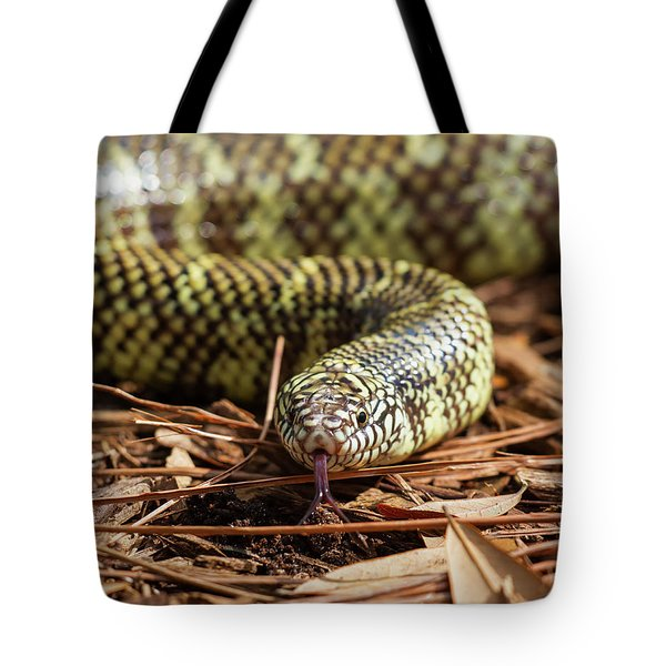 Slither Snake Tote Bag