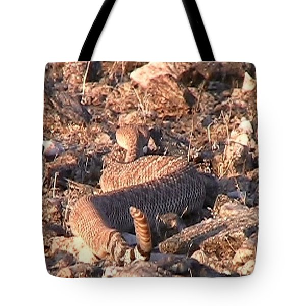 Slithering Away With Tail Held High Tote Bag