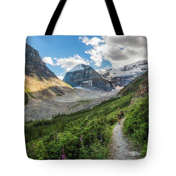 Sliver Of Light - Banff Tote Bag