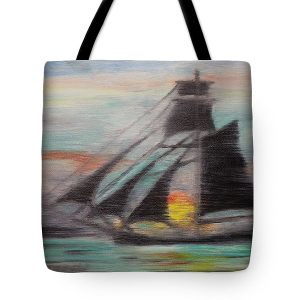 Sloop Tote Bag