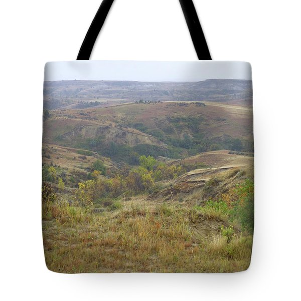 Slope County In The Rain Tote Bag