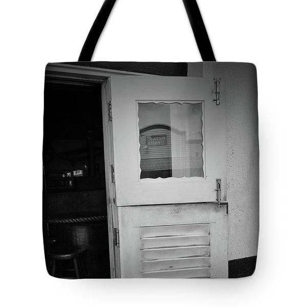 Tote Bag featuring the photograph Sloppy Door by Jost Houk