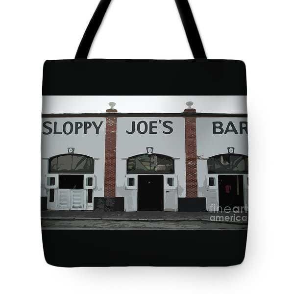 Tote Bag featuring the photograph Sloppy Joes Bar by Jost Houk