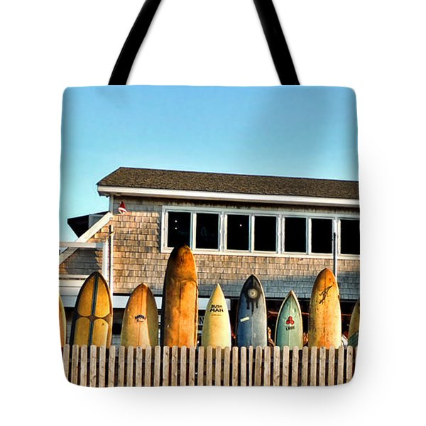 Sloppy Tuna Restaurant, Montauk Long Island Tote Bag