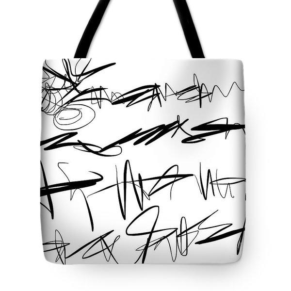 Sloppy Writing Tote Bag