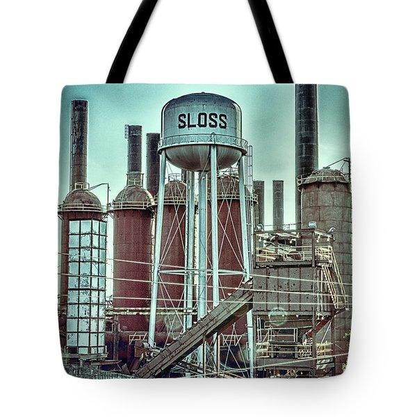 Sloss Furnaces Tower 3 Tote Bag