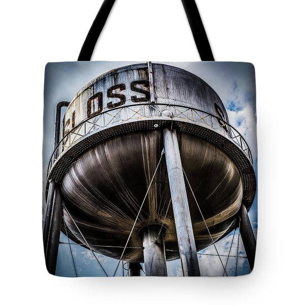 Sloss Tower Tote Bag