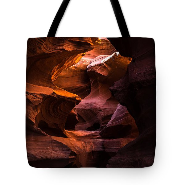 Slot Canyon Red Tote Bag