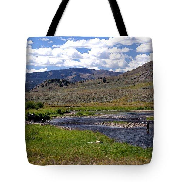 Slough Creek Angler Tote Bag