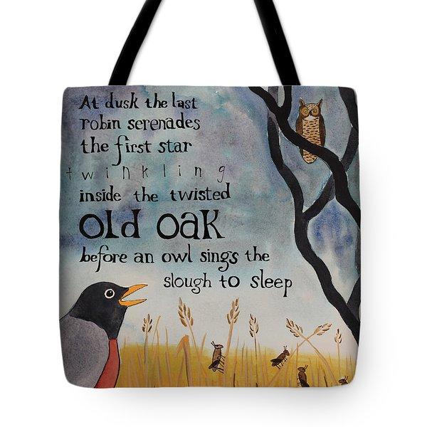 Slough Serenade Tote Bag by Alexandra Schaefers