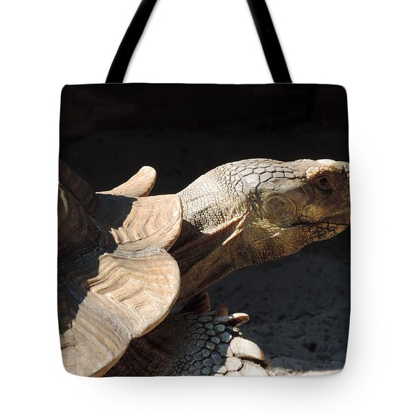 Slow But Sure Tote Bag