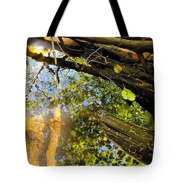 Slow Creek Tote Bag by Adria Trail