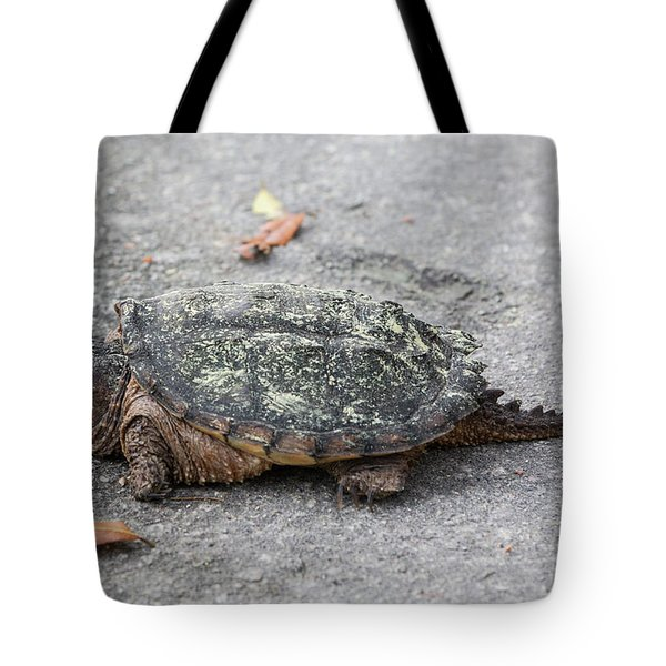 Slow Crossing 3 March 2018 Tote Bag