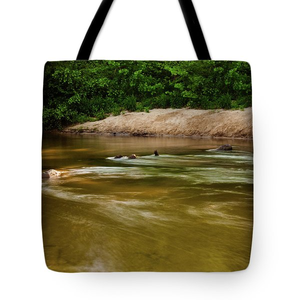 Tote Bag featuring the photograph Slow Down by Randy Sylvia