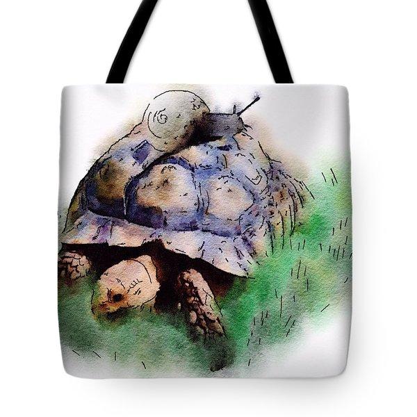 Slow Down You Will Kill Us Both Tote Bag