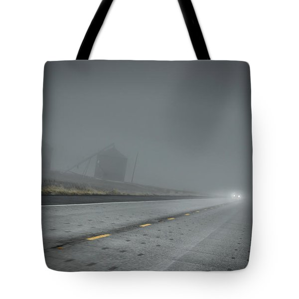 Slow Drive Home Tote Bag