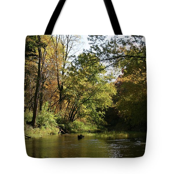 Tote Bag featuring the photograph Slow Go Mackinaw by Dylan Punke