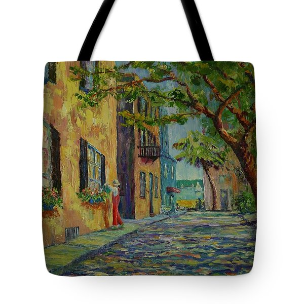 Farmer's Daughter  Tote Bag by Dorothy Allston Rogers