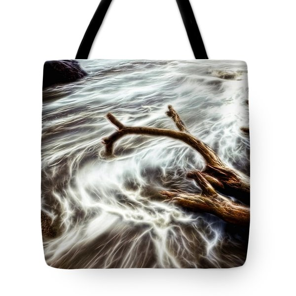 Slow Motion Sea Tote Bag