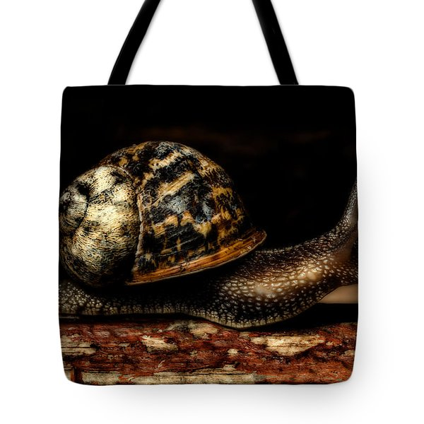 Slow Mover Tote Bag
