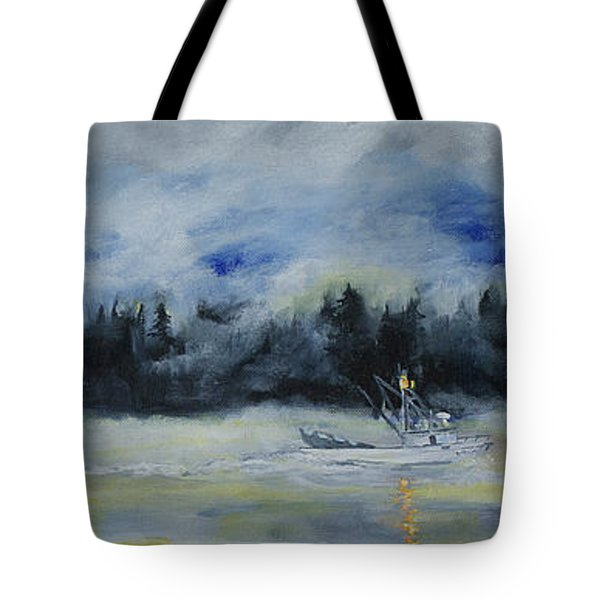 Slow Sail Home Tote Bag