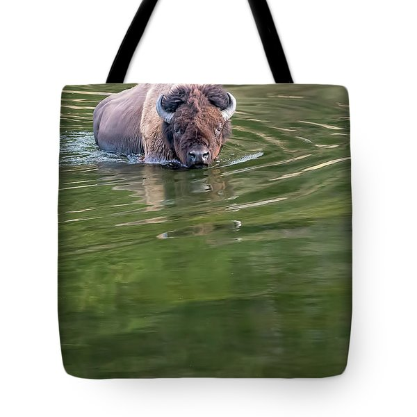 Slow Wadeing  Tote Bag