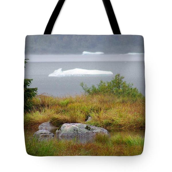 Slowly Floating By Tote Bag