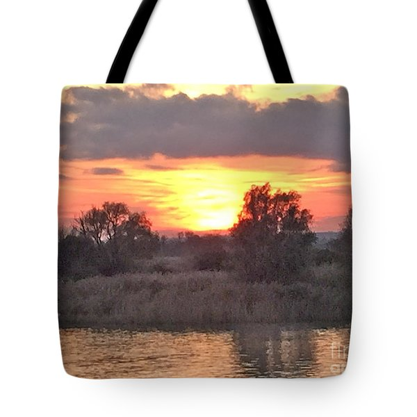 Slowly Sinking Tote Bag