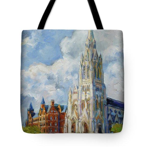 Slu - Grand And Lindell, Saint Louis Tote Bag