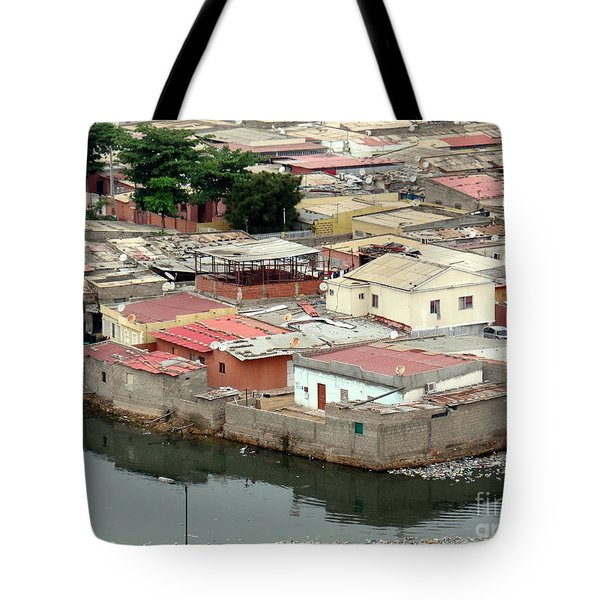 Slum In Luanda, Angola Tote Bag