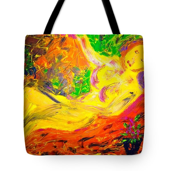 Tote Bag featuring the painting Slumber by Piety Dsilva