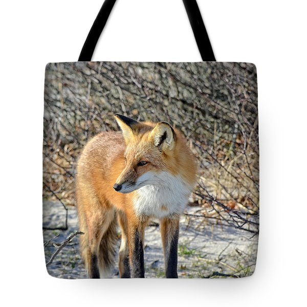 Sly Little Fox Tote Bag by Sami Martin