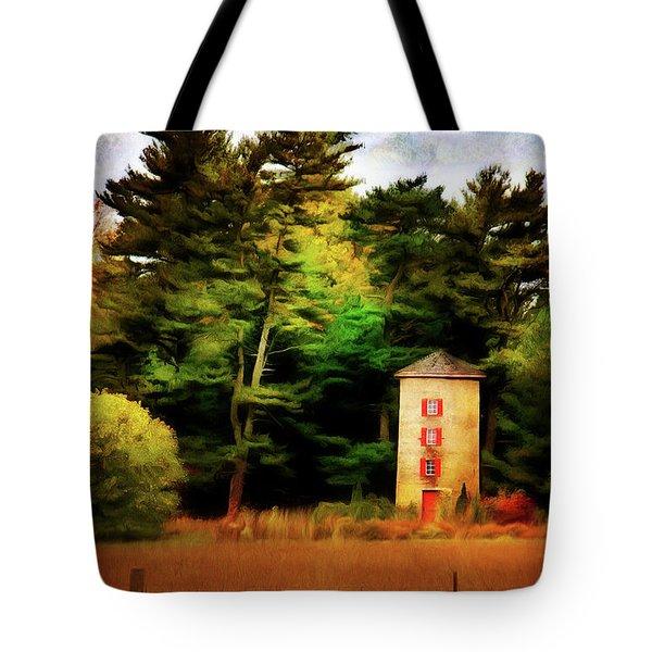 Small Autumn Silo Tote Bag