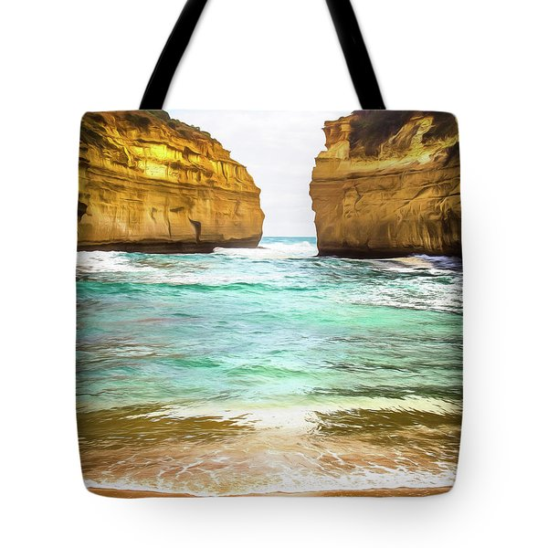Tote Bag featuring the photograph Small Bay by Perry Webster