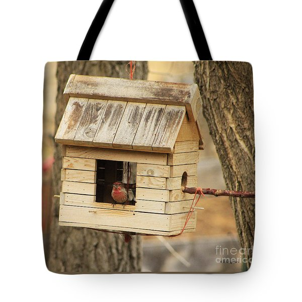 Small Bird Living Country Style In Colorado Tote Bag