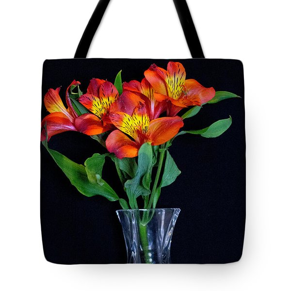 Small Bouquet Of Flowers Tote Bag