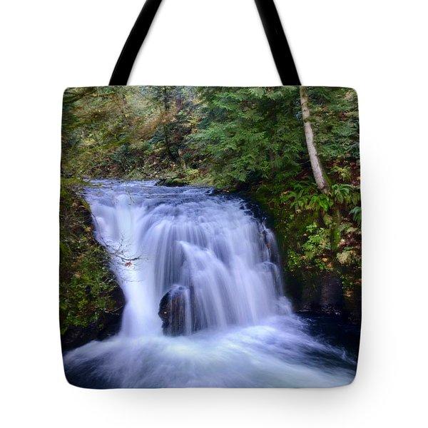 Small Cascade Tote Bag