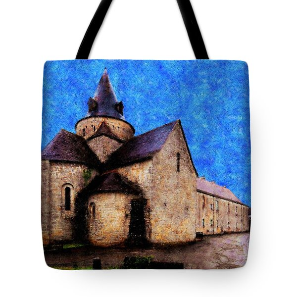 Small Church 1 Tote Bag by Jean Bernard Roussilhe