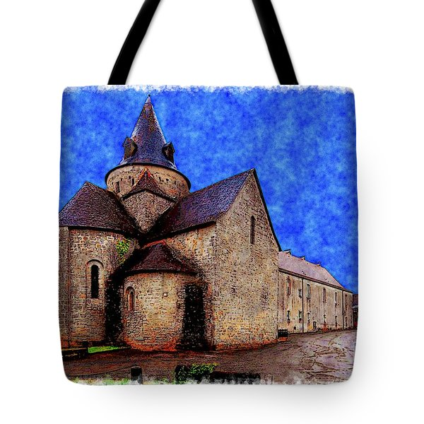 Small Church 2 Tote Bag by Jean Bernard Roussilhe