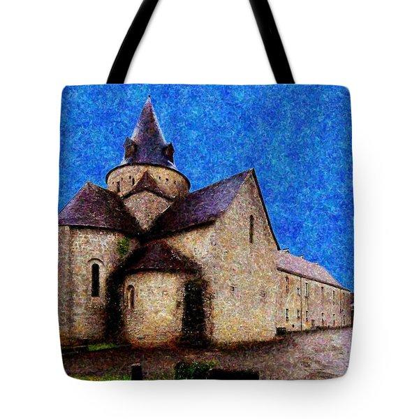 Small Church 3 Tote Bag by Jean Bernard Roussilhe